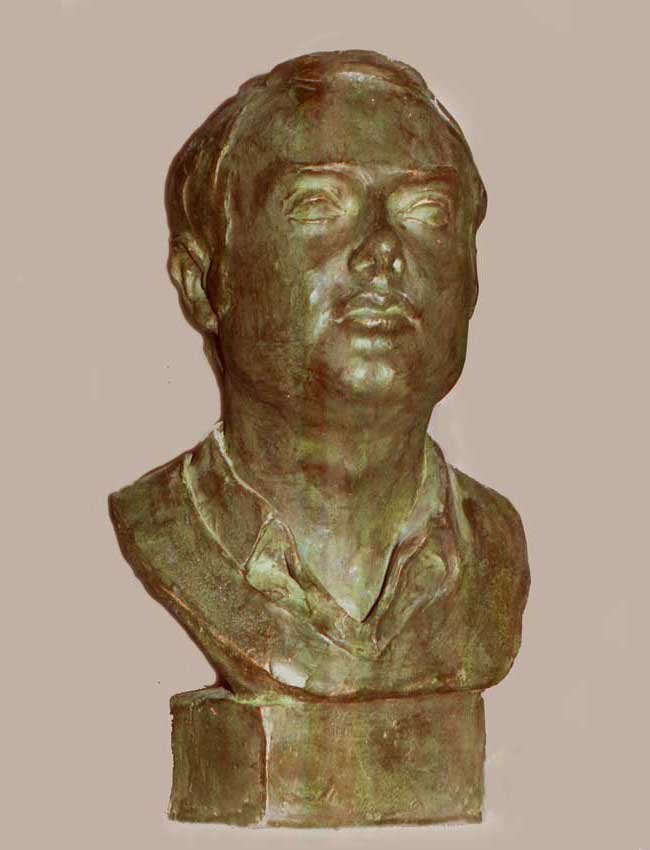 Busto en bronce a Diego Marquez